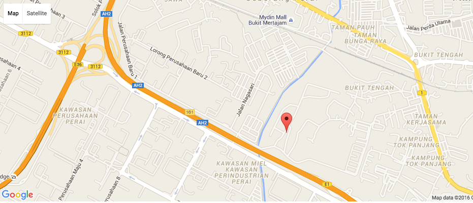 central i google location