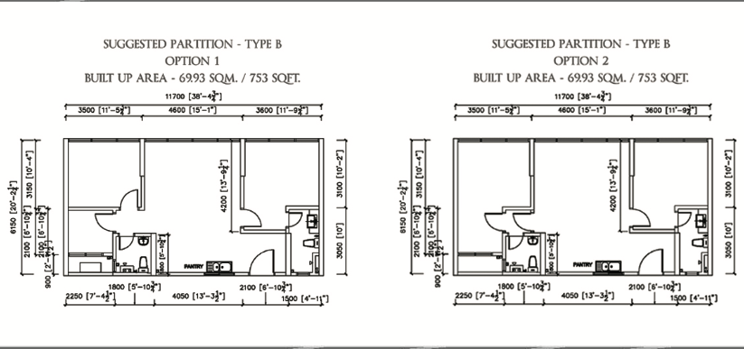 Urban suites jelutong penang for 1 moulmein rise floor plan