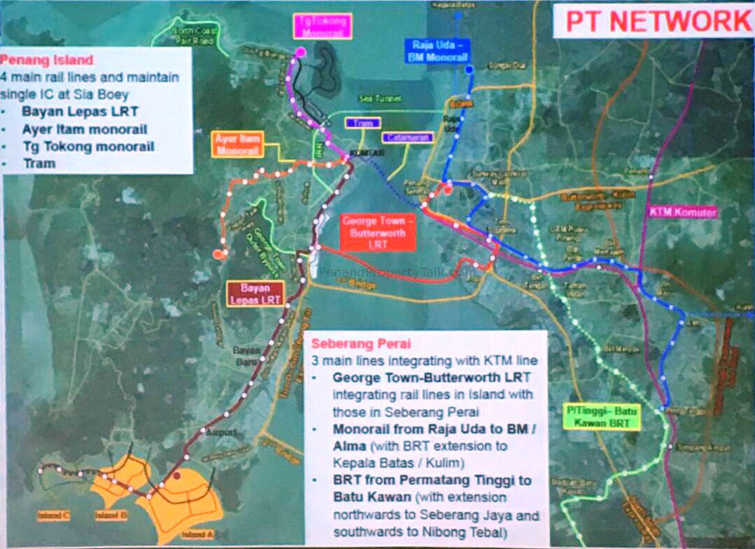Land reclamation the only way to fund transport plans in Penang