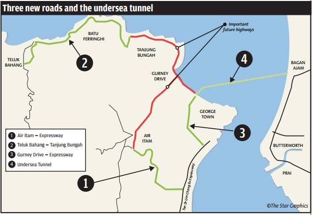 Penang mega project to start in June 2016