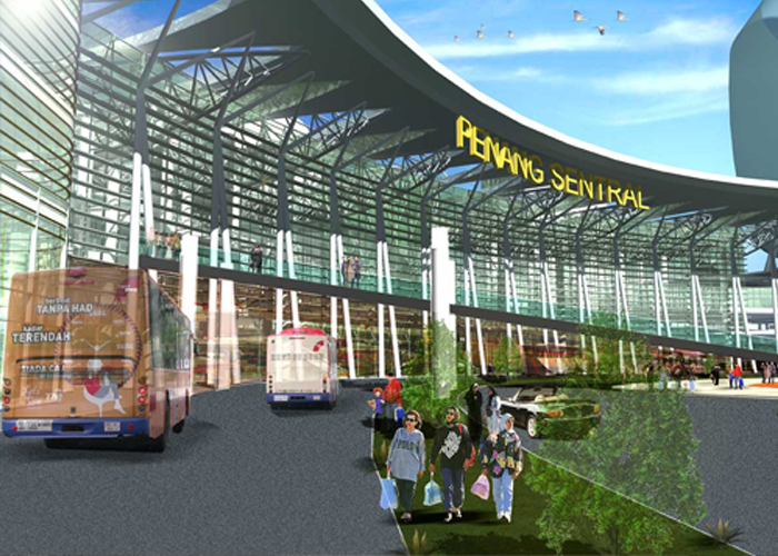 Penang Sentral -Penang New Transport Hub Terminal Coming Soon